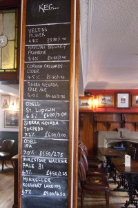 Kirkstall keg list