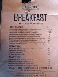 NMBCo menu