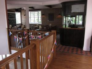 Lamb & Flag upstairs