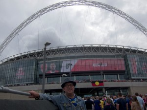 Me at Wembley