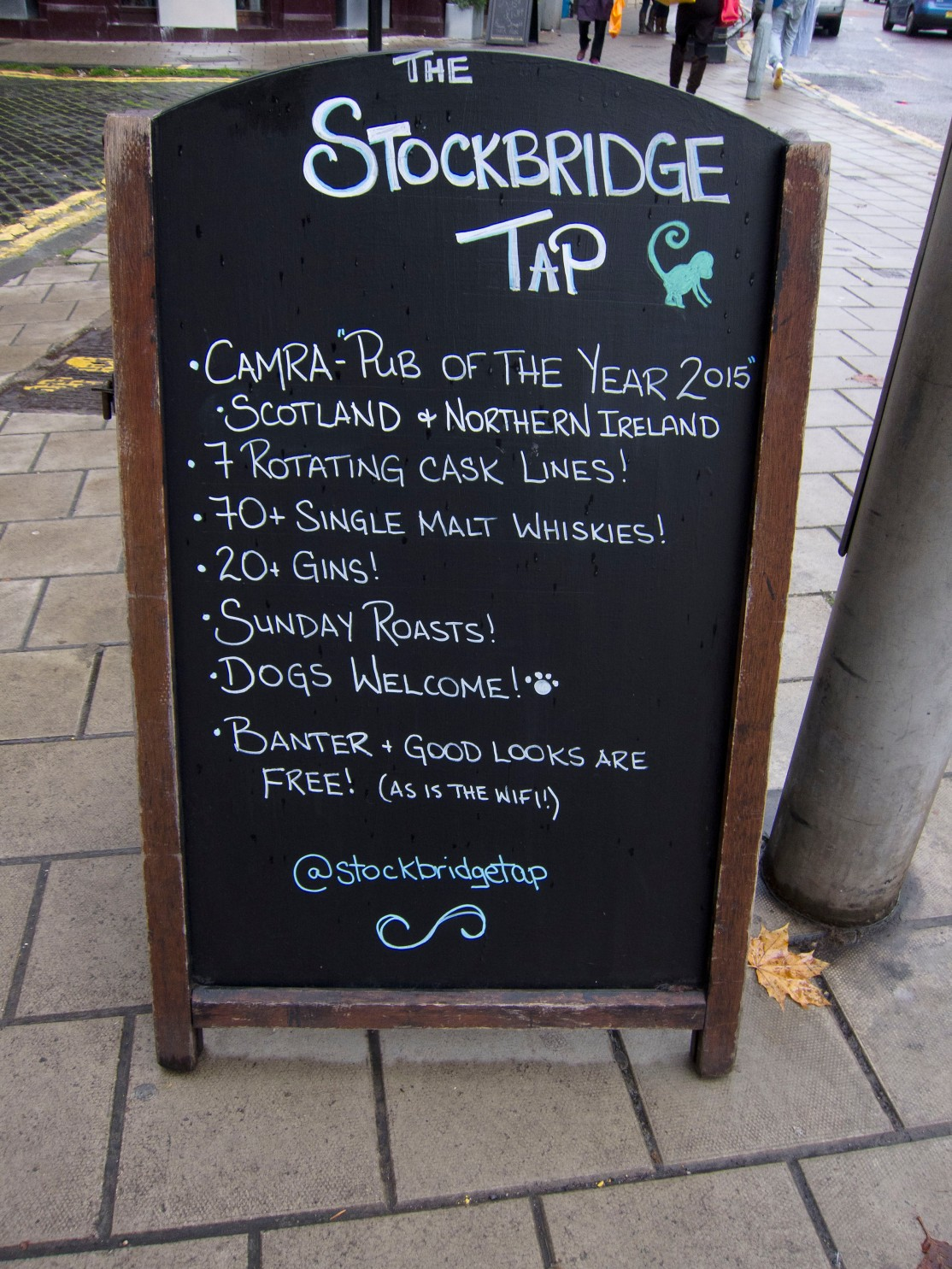 Stockbridge tap board