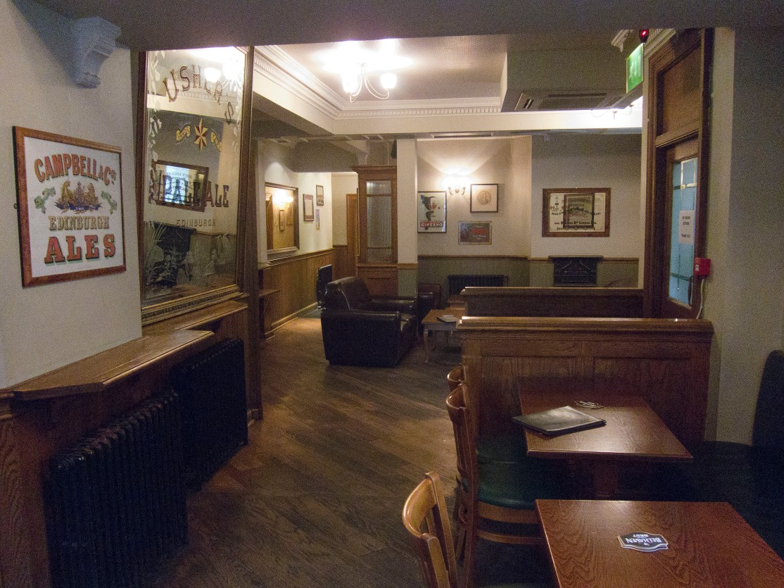 Stockbridge tap interior