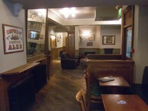 Stockbridge tap interior