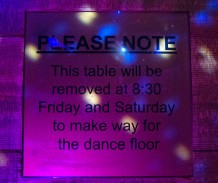 Archies dance floor