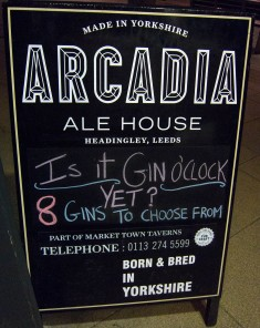Arcadia sign