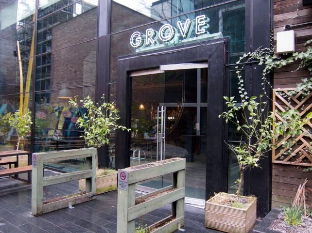 Grove entrance