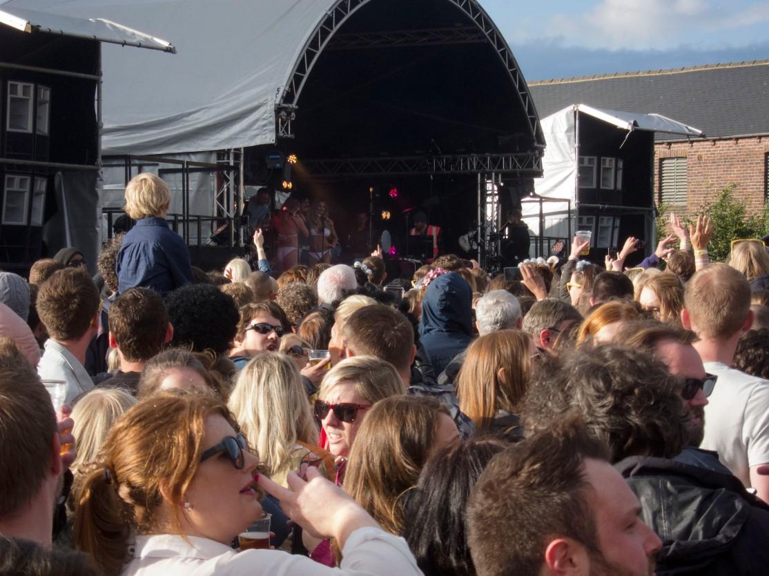 Big Disco crowd