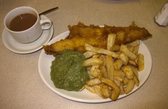 Brown Room fish tea