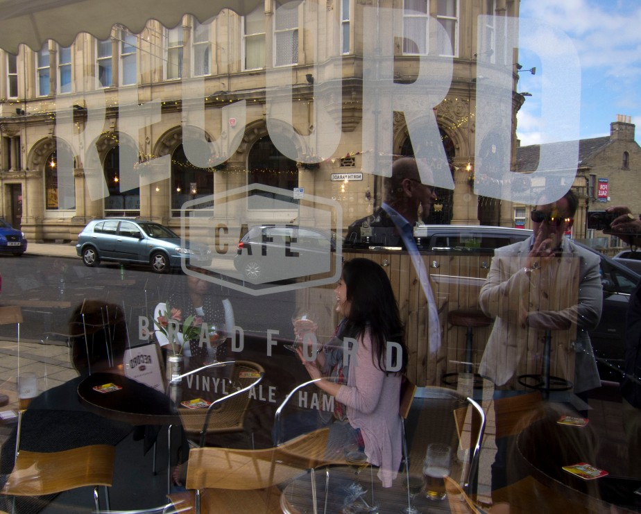 Record cafe logo