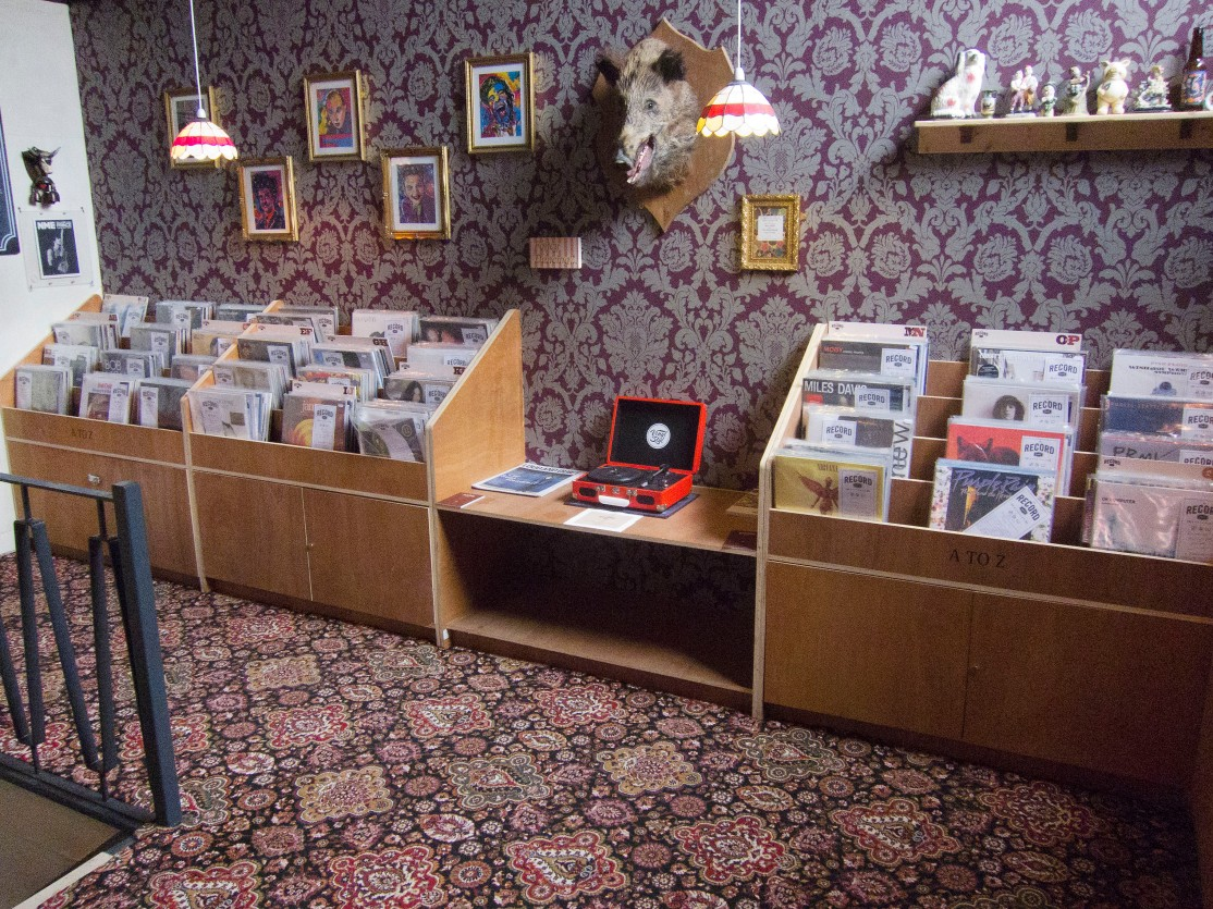 REcord cafe records