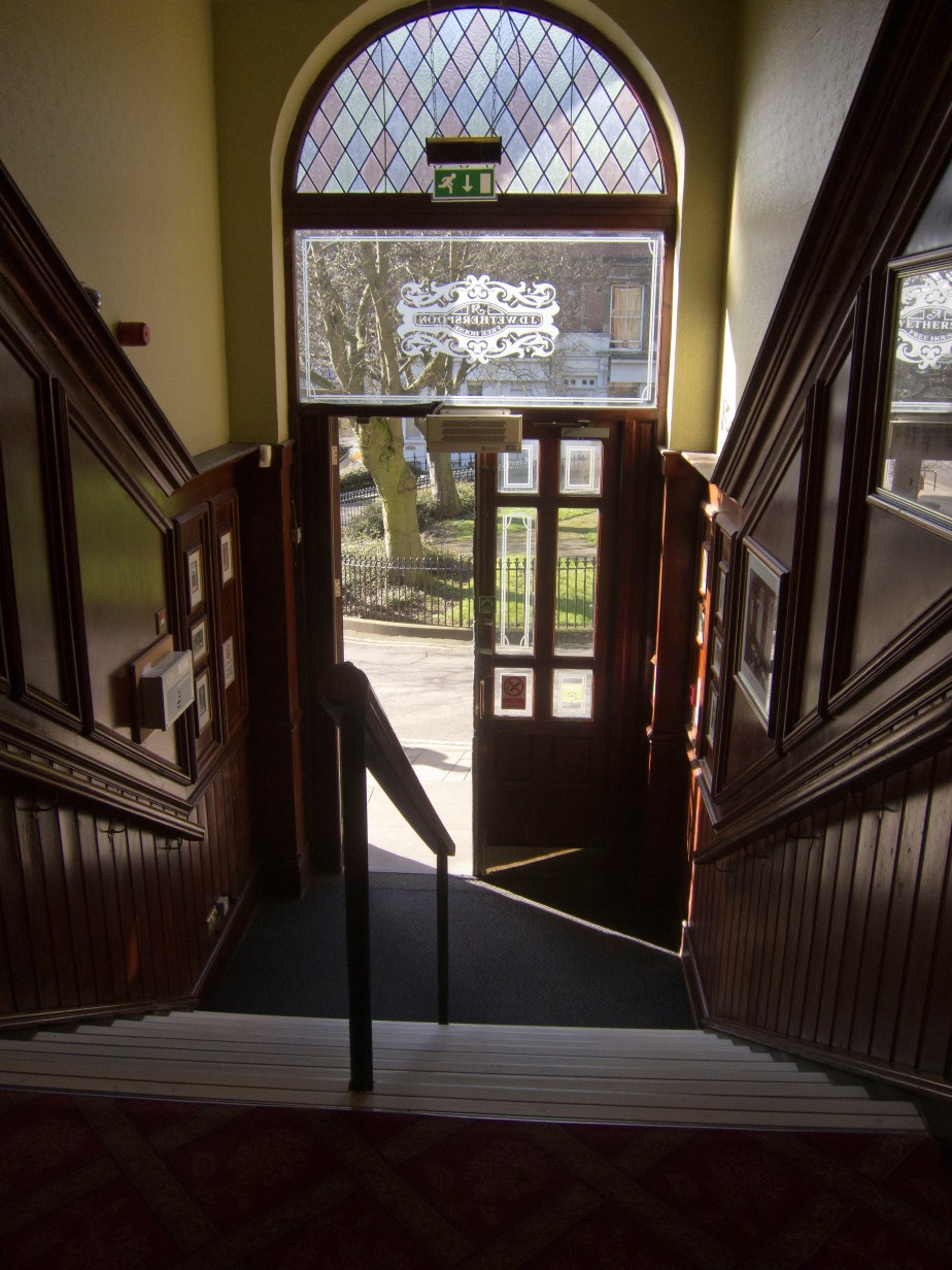 Lord Roseberry stairs