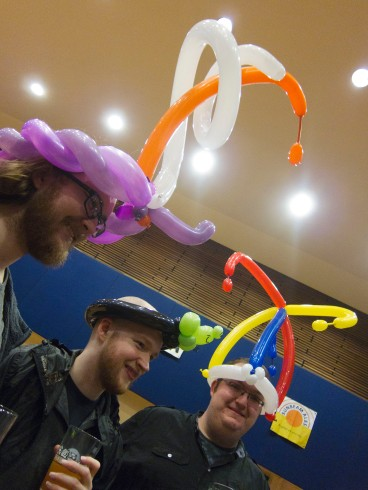 Pudsey ballons again