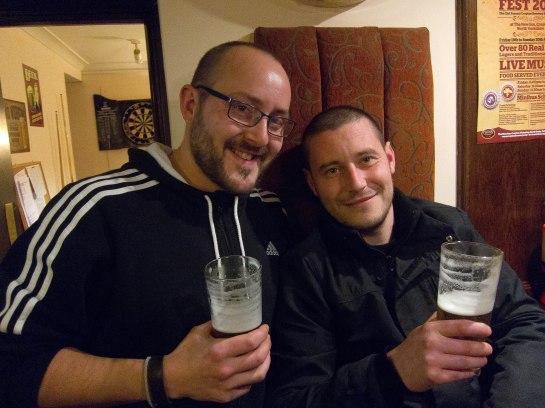 Cropton meet the brewers